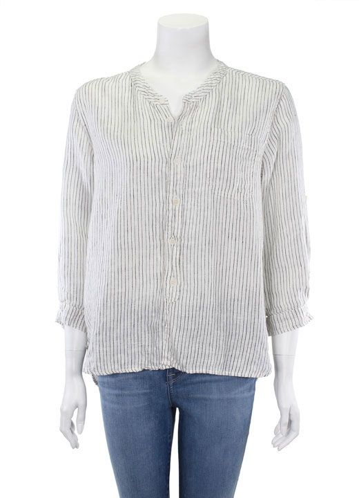 bb83119696a Striped Linen Jess Shirt from CP Shades at Art Effect | CP Shades ...