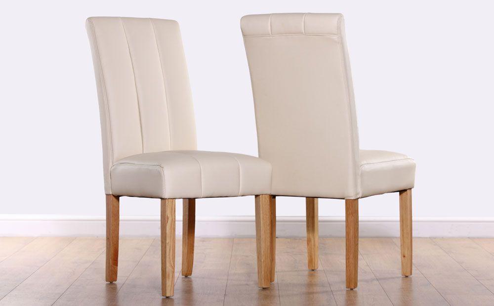 Ivory Leder Stuhlen Esszimmerstuhle Leather Dining Chairs Cream Leather Dining Chairs Oak Dining Chairs