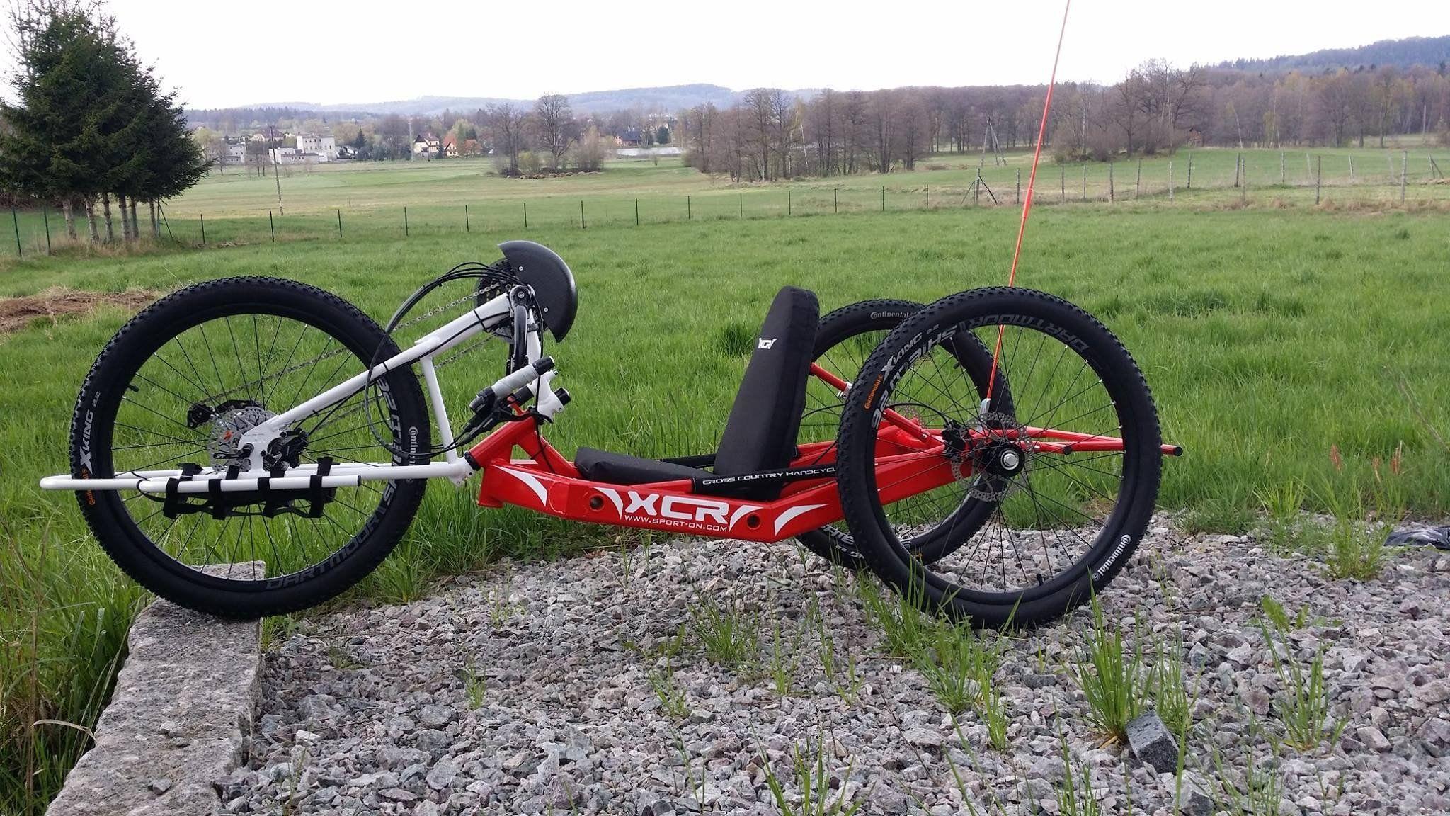 Handbike Xcr Rower Trojkolowy 6845925339 Oficjalne Archiwum Allegro Bicycle Moped Motorcycle