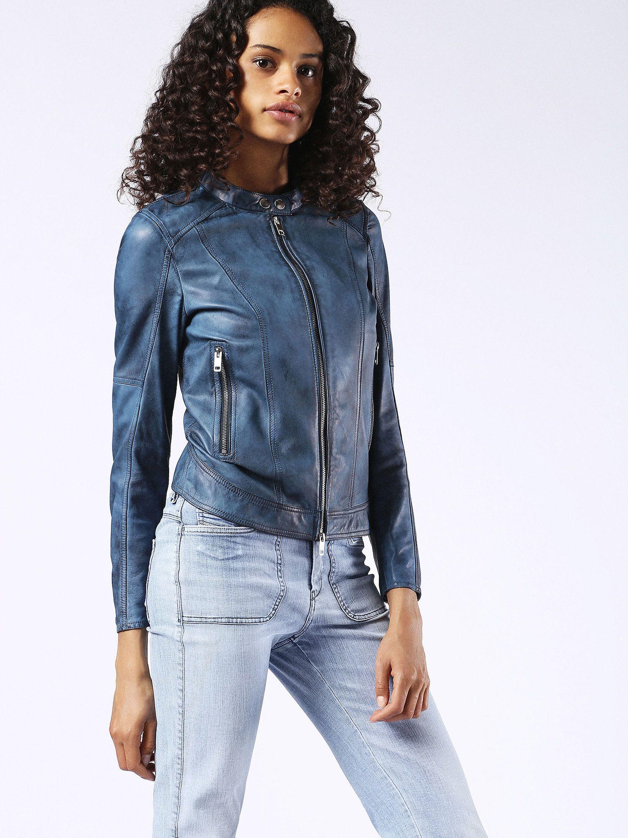 Shadowhunters Diesel L Lory Jacket Jackets Diesel Jacket Leather Jacket [ 2667 x 2000 Pixel ]