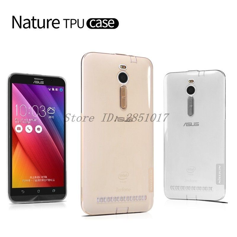 Asus zenfone 2 ZE551ML Case Nillkin Nature Transparent Silicon Soft TPU Back Cover Case For Asus zenfone 2 ZE551ML