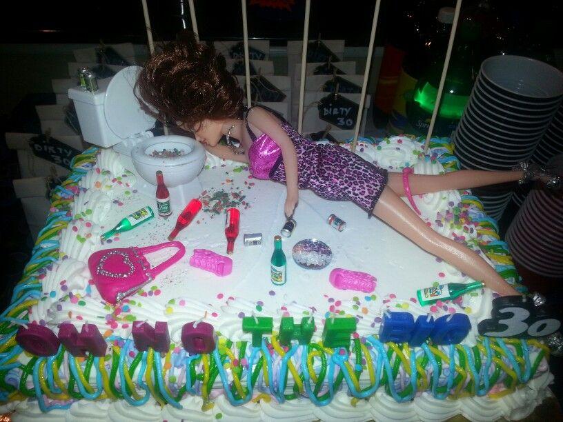 My Dirty 30 Birthday Cake