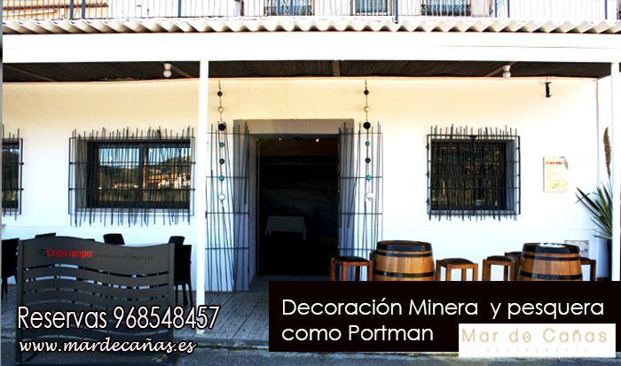 Mar de Cañas es un restaurante integrado en la Bahía de Portman, mimando la tradición minera y pesquera inicial de nuestra localidad, como puedes encontrar en nuestra decoración ¡ ven a conoernos ! ¡ te esperamos ! Reservas 968548457
