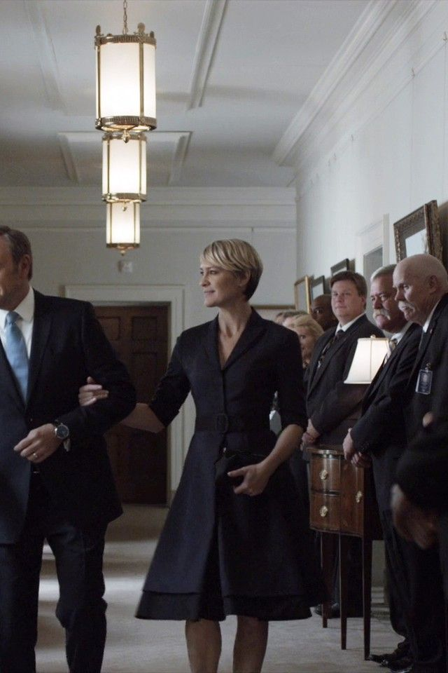 Claire Underwood Style Season 2 Claire Underwood in Ho...
