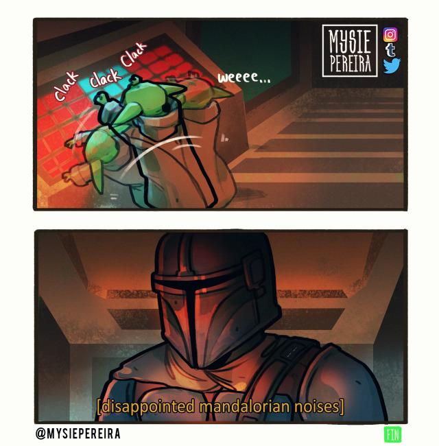 Baby Yoda Tumblr In 2020 Star Wars Comics Star Wars Humor Funny Star Wars Memes