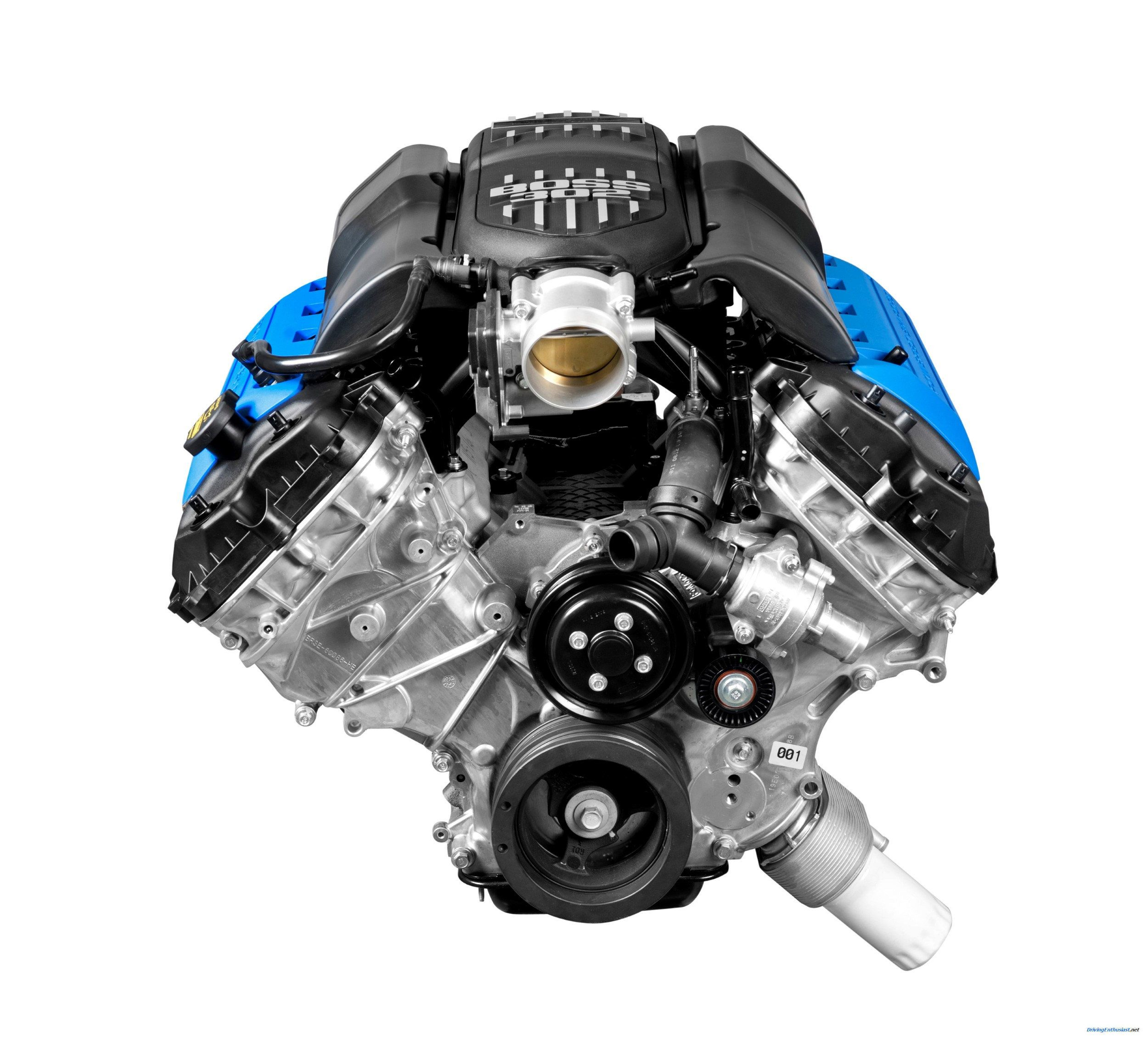 2012 Ford Mustang Boss 302 Engine