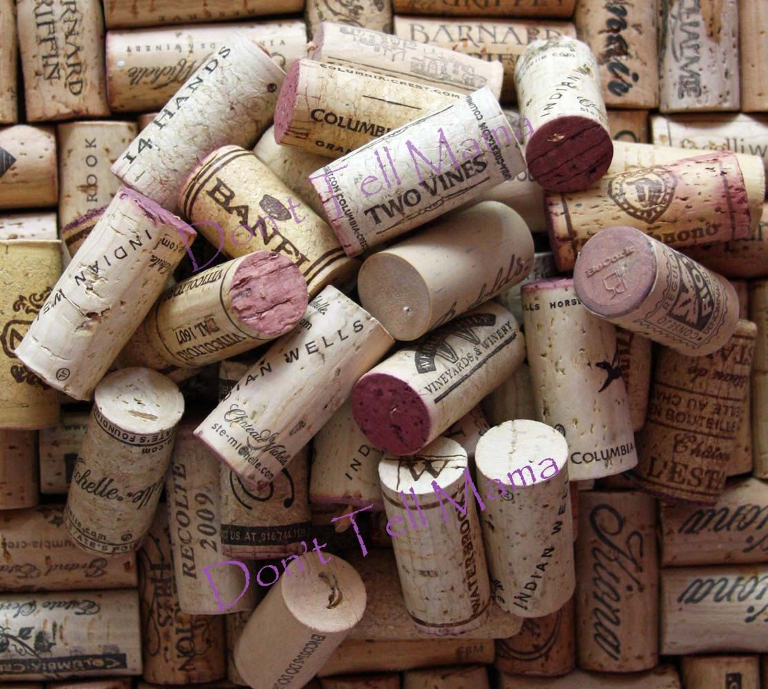 No Champagne 100 Natural Used Wine Corks No Synthetic