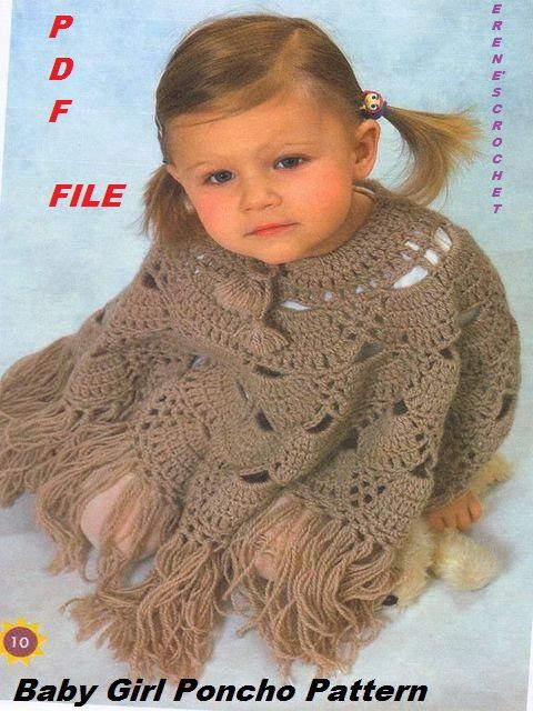 Crochet For Girls 3 4 Years Old New Cool Poncho Wrap Pattern