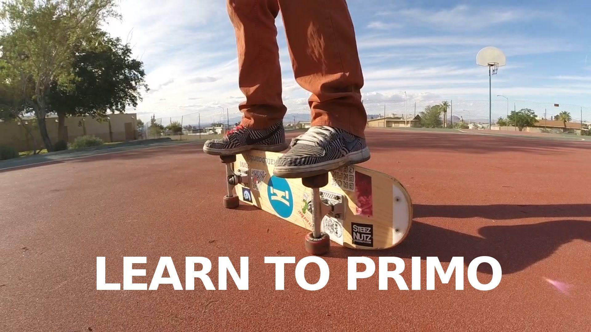 Freestyle Trick Tip Railstand Primo Freestyle Trick Skateboard