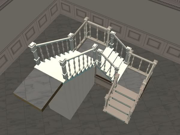 Best U Shaped Staircase To Create A Cleaner Look With 400 x 300
