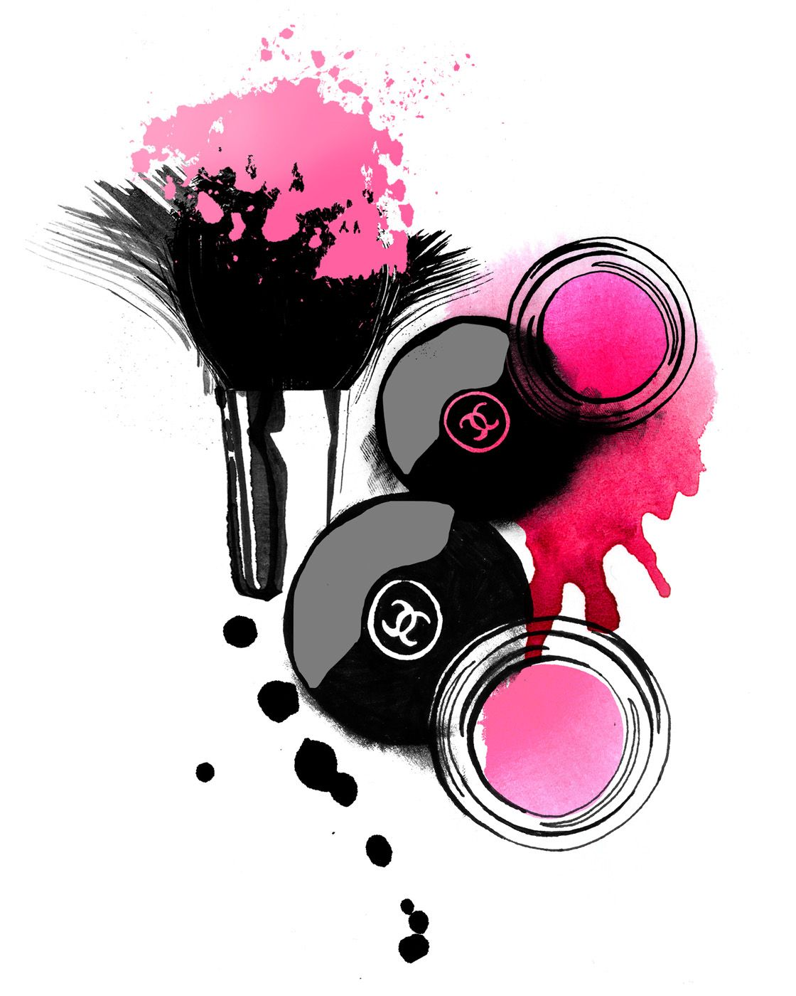 Agentmolly Co Maquillage Illustration Idees D Art Cadre Image
