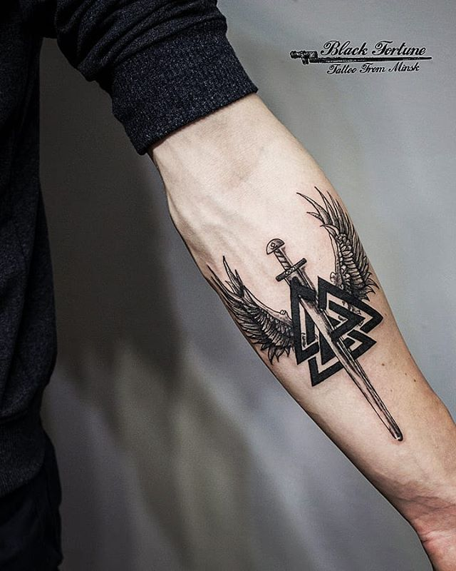 Photo of Slavic and Scandinavian tattoos | sketches's photos