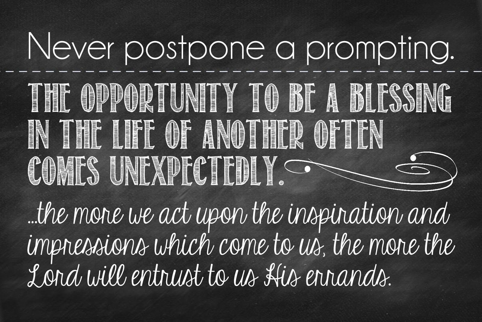 November Visiting Teaching Message President Thomas S. Monson Quote From  October General Conference. I Need To Plaster This All Over My House As A  Reminder ...