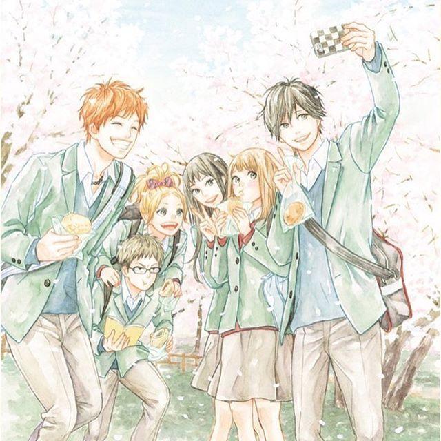 Takanoichigofan さんのinstagramをピンしています 春 Takanoichigo Illustration Manga Comic Orange Takamiyanaho Narusekakeru Suwahiroto オレンジ 漫画 Orange 漫画 オレンジ イラスト