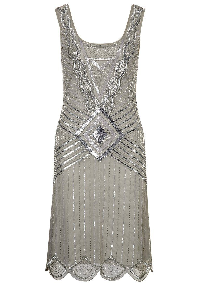femme robes frock and frill robe de soirée grey,frock and