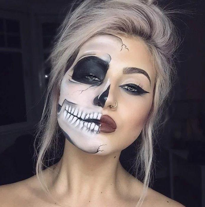 20+ Creative and Fun Makeup Ideas & Designs For Halloween 2020