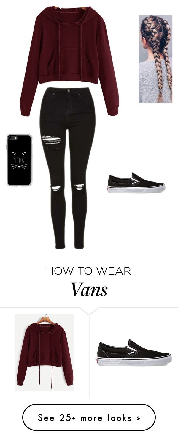 """""""School"""" By Shernandez018 On Polyvore Featuring Vans And"""