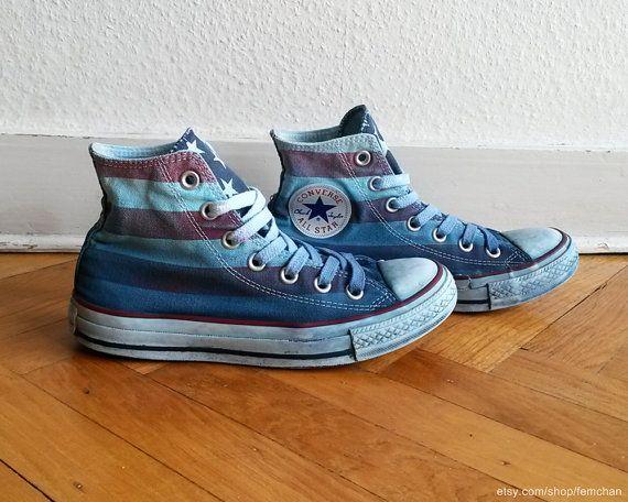 converse 37 bleu