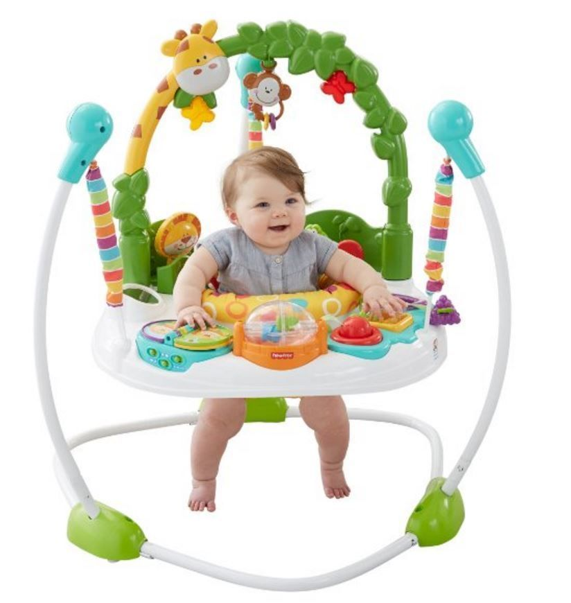 Baby Jumpers And Bouncers Fisher Price Go Wild Jumperoo Fisherprice Baby Fisher Fisher Price Baby Fisher Price Rainforest Jumperoo