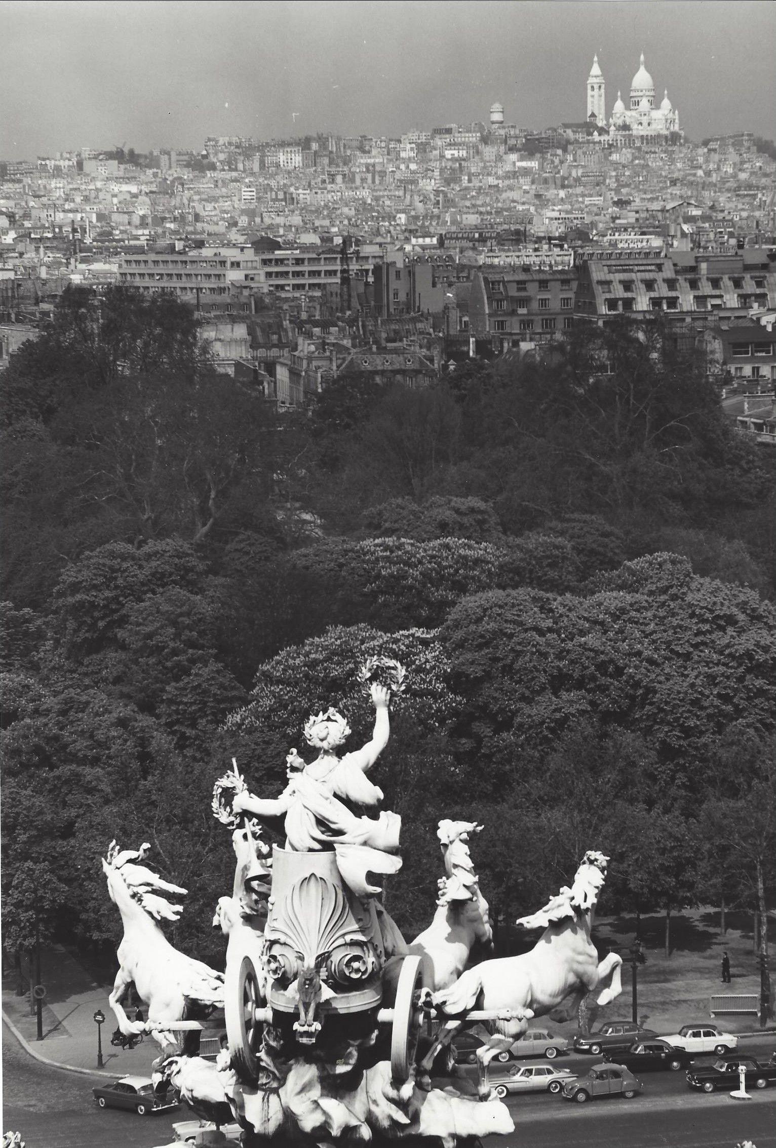 Kees Scherer    Monument Grand Palais, Paris   1954-1958