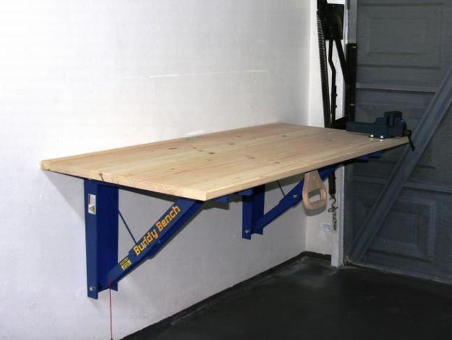 Beautiful Folding Garage Workbench 3 Folding Garage Workbench Plans Munkaasztalok Pinterest