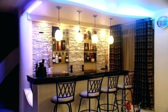 Ideas Corner Mini Bar And Living Room