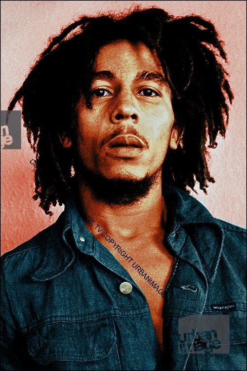 Bob Marley Portrait Carlos Place Hand Coloured With Images