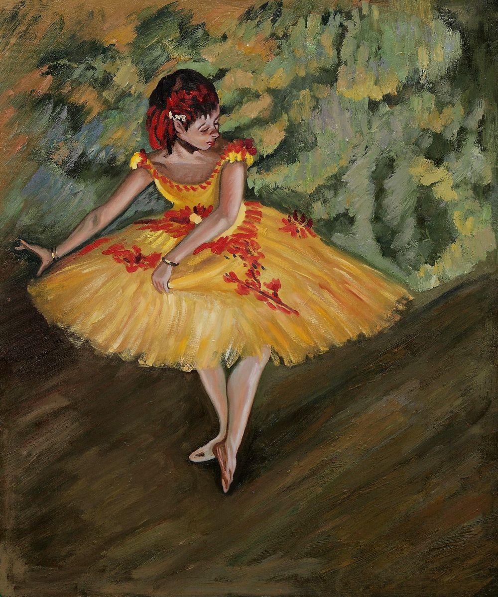 Dancer Making Points Edgar Degas Oil Reproduction At Overstockart Com In 2020 Edgar Degas Art Degas Edgar Degas