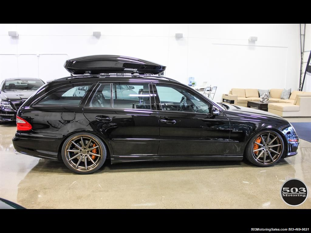 2007 Mercedes Benz E63 Amg Wagon 1 Of 67 For 2007 Photo 7