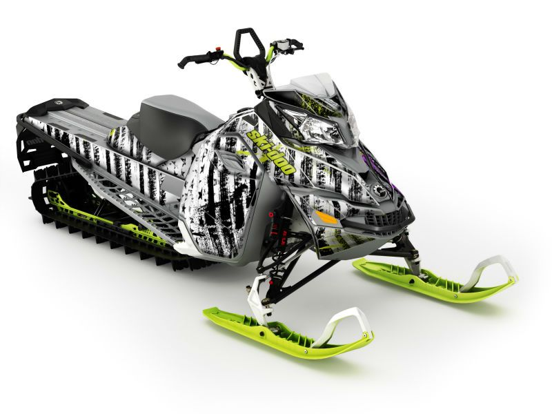2014 SkiDoo Freeride 154 Snowmobile Snowmobile, Horse