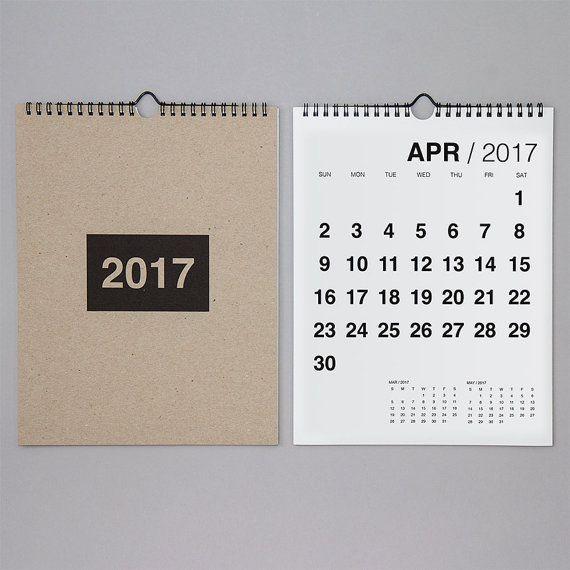 2020 Bold Wall Calendar Etsy In 2020 Wall Calendar Calendar Minimalist Calendar