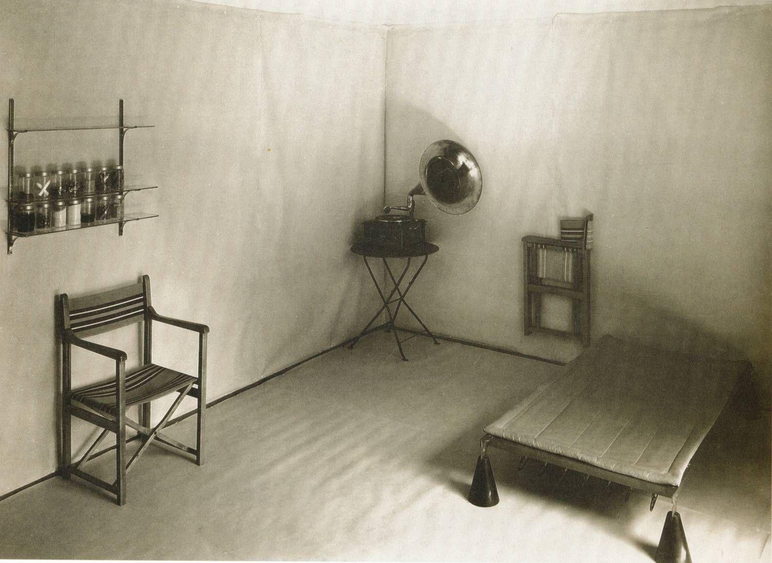 Co Op Zimmer 1924 Hannes Meyer Zimmer Vitra Design Museum