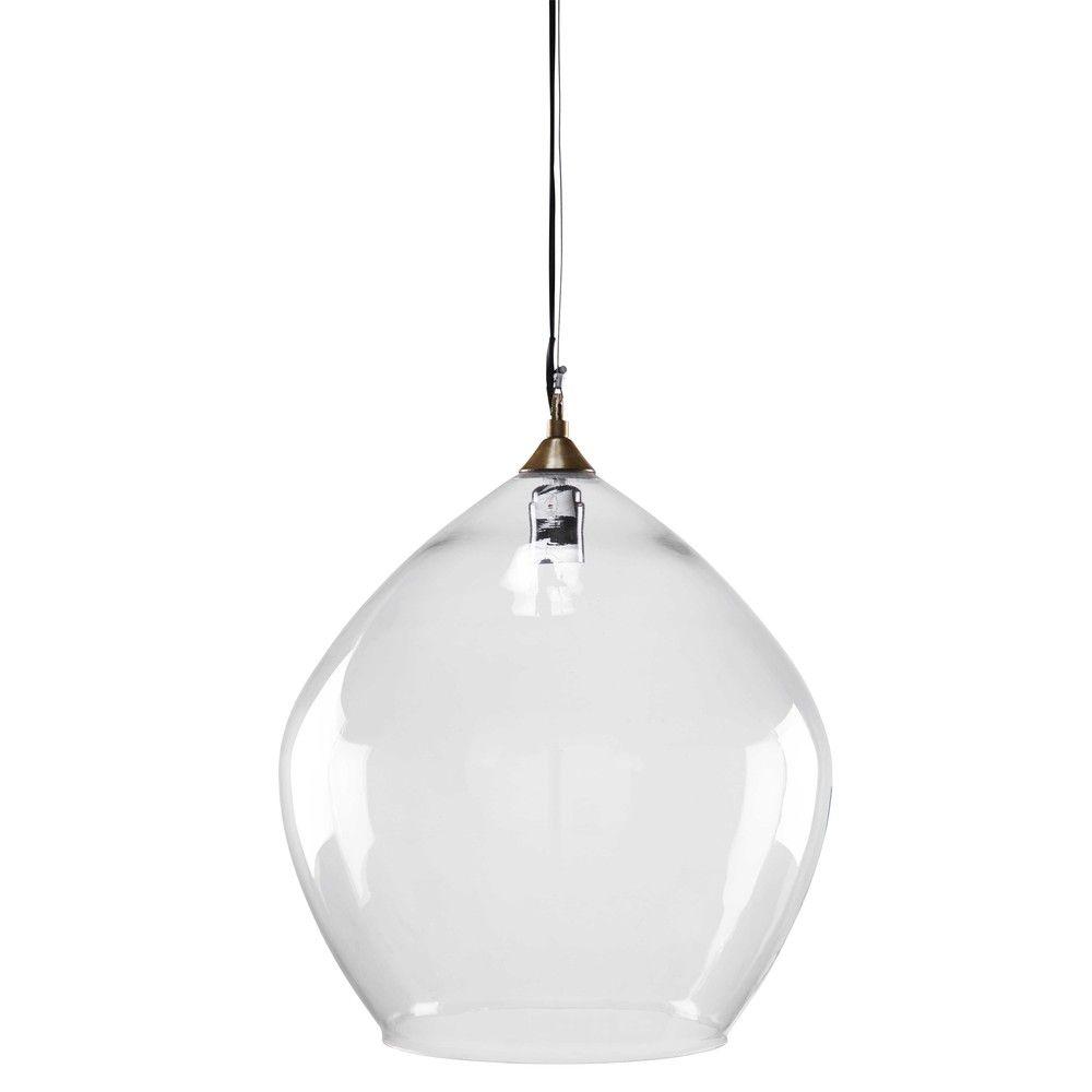 Suspension en verre D39 | Déco et aménagement | Suspension ...