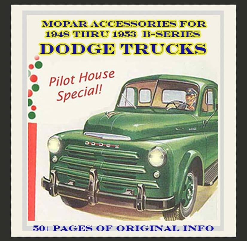 1948 Dodge Truck Parts Catalog