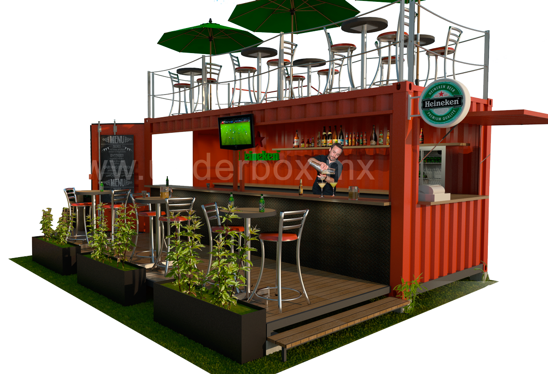 Box 01 restaurante bar terraza superior underbox for Food bar 36 cafe