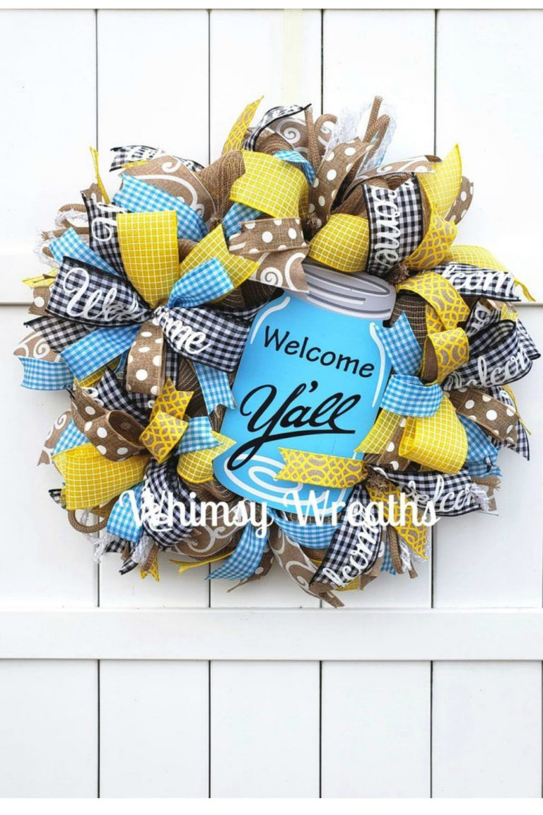 Photo of June Door Wreaths & Centerpieces – Trendy Tree Blog| Holiday Decor Inspiration | Wreath Tutorials|Holiday Decorations| Mesh & Ribbons