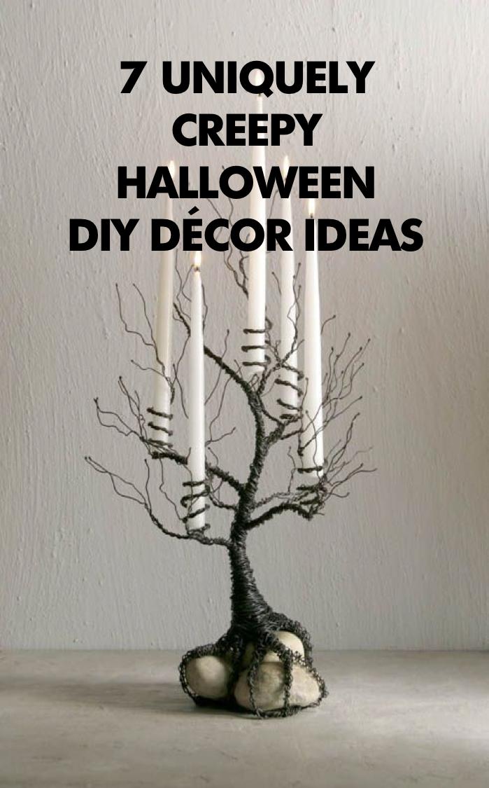 Creepy Decor You Can Do Yourself Halloween Ideas Creepy
