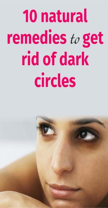10 natural remedies to get rid of dark circles - cluewell ...
