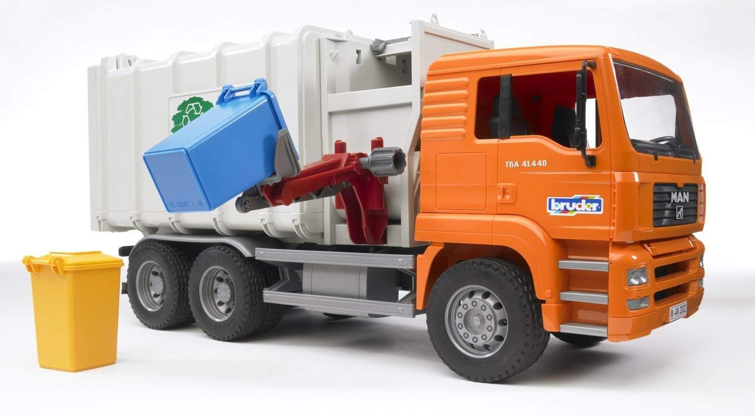 Bruder Toys Man Side Loading Garbage Truck This Is A Great Gift Idea For Our 4 Year Old It S Educational Toys For Kids Cool Toys For Boys Best Christmas Toys