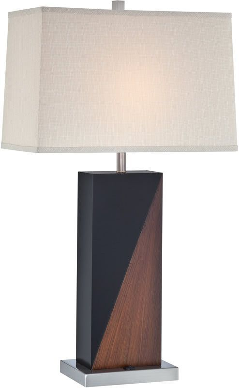 """0-033857>30""""""""h Cristiano 1-Light Table Lamp Polished Steel"""
