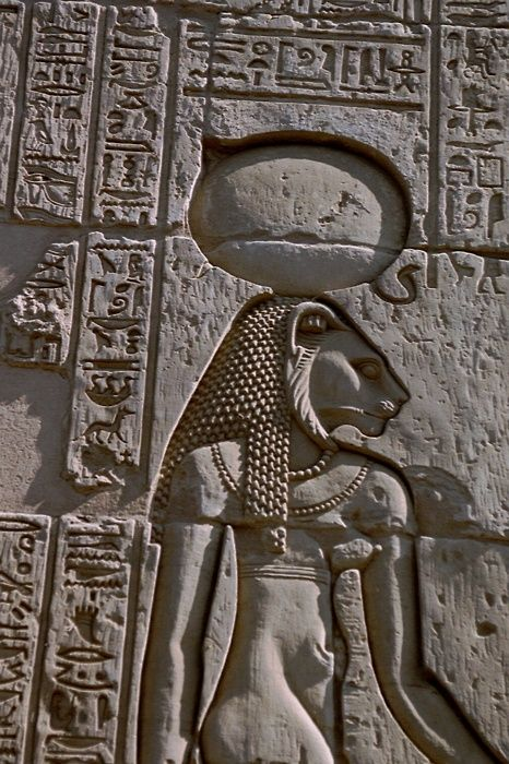 Egyptian goddess, Sekhmet; very appropriate for the entry of Venus into Leo- the lioness!!