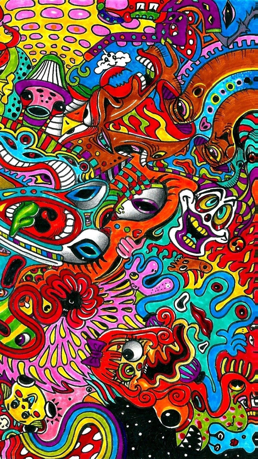 Pin by Mike Yaeger on Amazing in 2019 Trippy wallpaper
