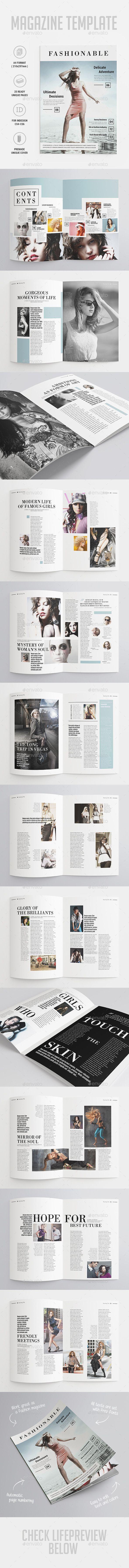 Fashion Magazine | Layouts, Magazines and Magazine layouts