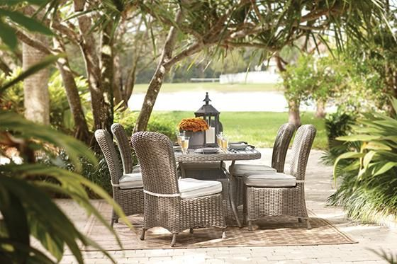 Martha Stewart Living™ Lake Adela 7 Piece Dining Set Part 98