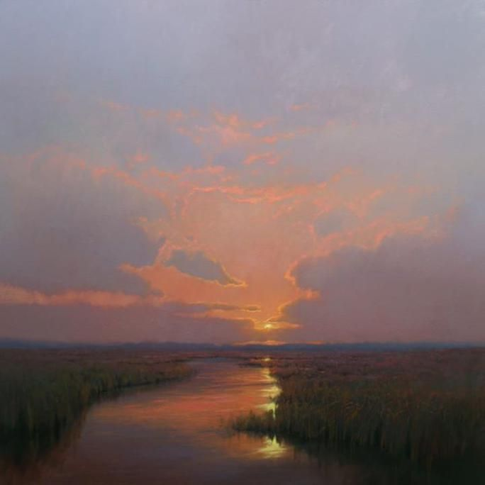 Plein Air Paintings By Kevin Courter Landscape Artist Landscape Paintings Landscape Art
