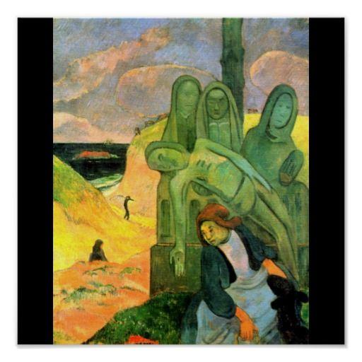Poster Classic Vintage Paul Gauguin 11 Poster Zazzle Com Paul