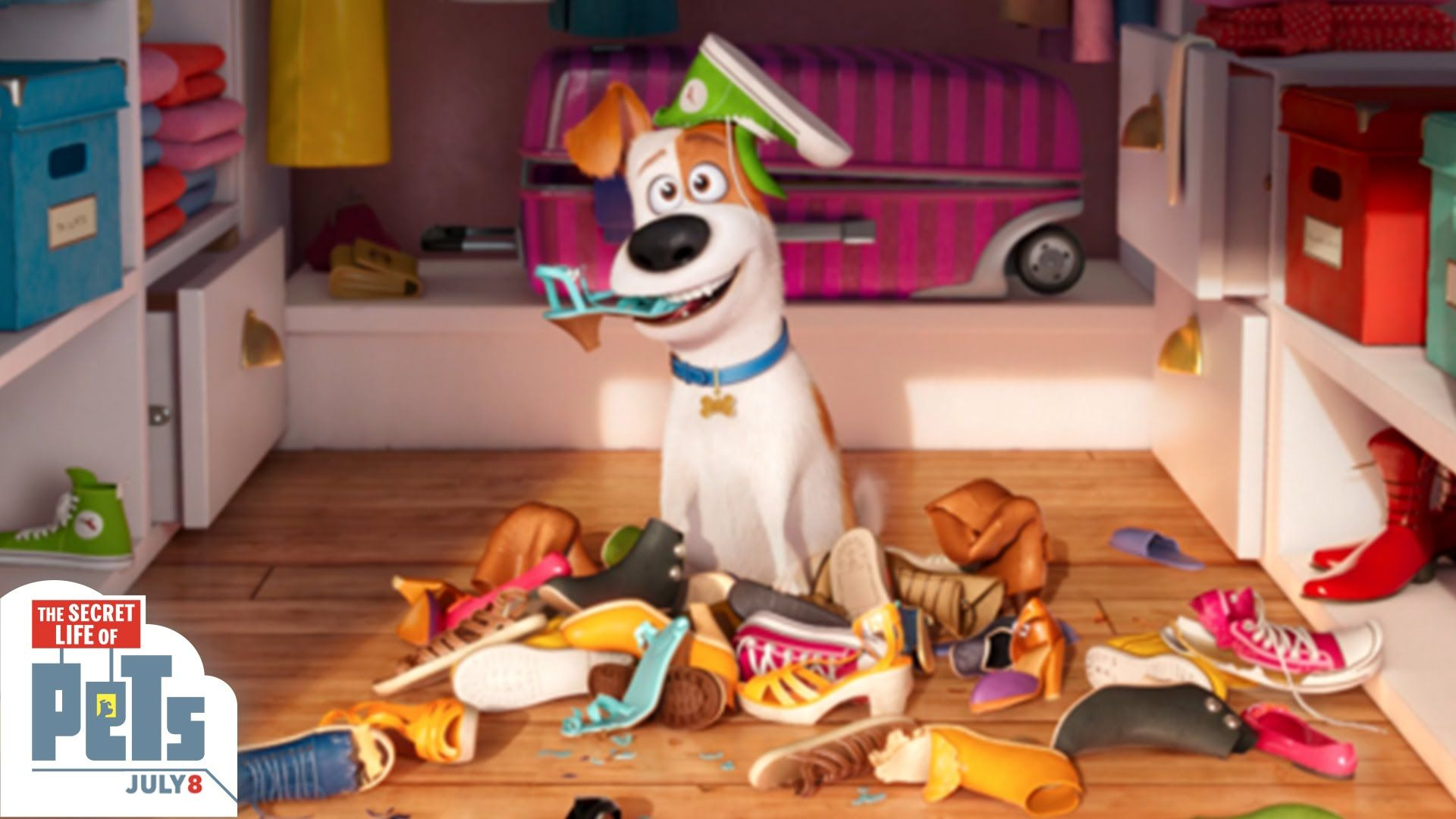 Catch The Cuddly Dogs Max Mel Chloe And Other Pet Friends In Their Natural Habitat Watch This Video For The Secret Lif Secret Life Of Pets Secret Life Pets