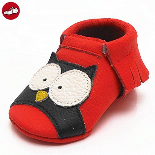 Sayoyo Owls WeichesLeder Lauflernschuhe Krabbelschuhe Babyschuhe