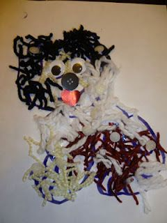 Easy Furry Dog Craft Or Art Project For A Toddler Or