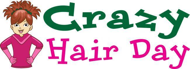 Crazy Hair Day Flyer